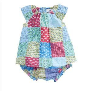 Vineyard Vines Baby Girl Heritage Set 6-12months